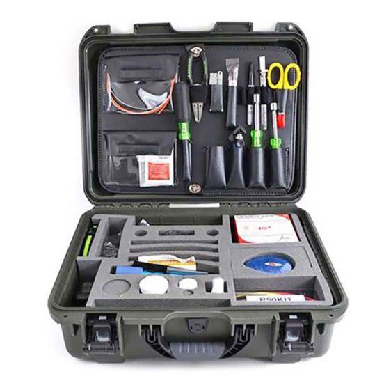 FIS Basic Fiber Optic Tool Kit with Greenlee Tools - Fiber Instrument Sales